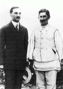 Juliu Maniu és Ion Mihalache román