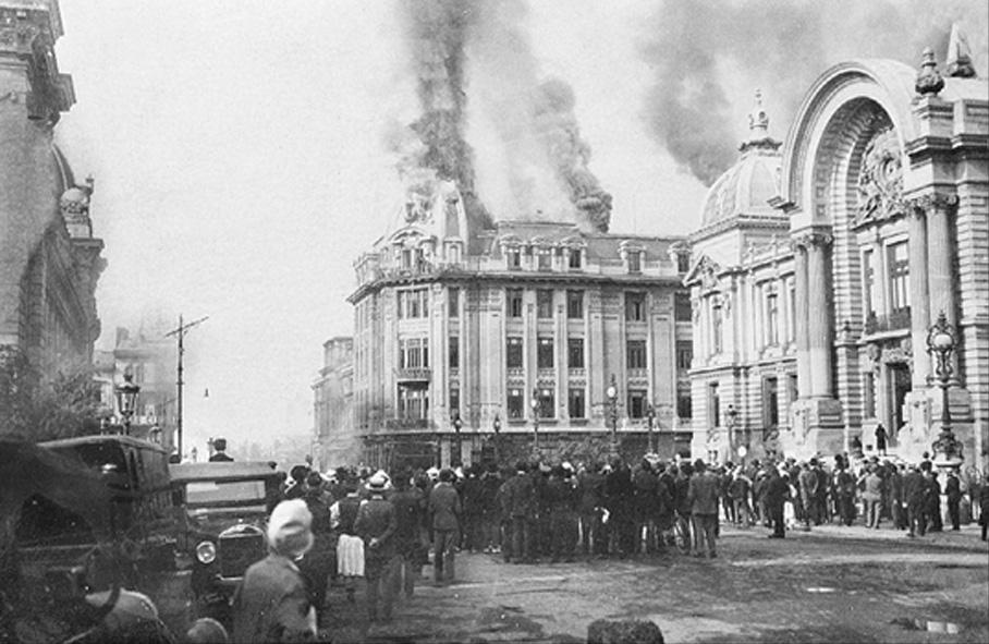 Incendiu la Blocul Prager