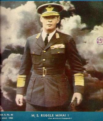 regele Mihai aviator