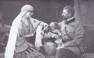 Le Roi et La Reine de Roumanie