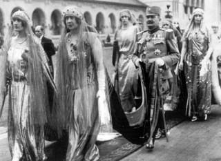 Queen Marie coronationa