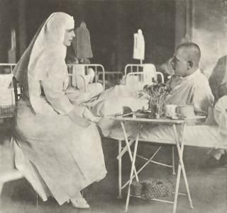 Maria soldati spital 1917
