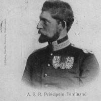 Principele Ferdinand - postcard