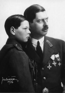 Carol si Mihai - 1936