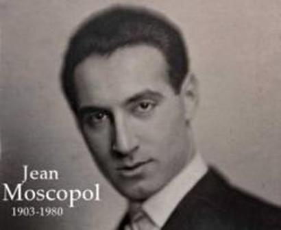 """un tango românesc, interpretat de Jean Moscopol, """"Vrei să ..."""